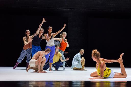 Synchronised movement: Sunny at the Abbey Theatre