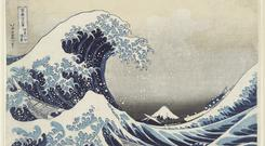 Hokusai's Under The Wave Off Kanagawa (1831), known as The Great Wave, has infiltrated popular culture;