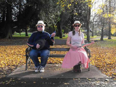 Ciaran Bermingham and Cora Fenton in 'Fred and Alice' at the Viking Theatre, Clontarf. Photo: Jeff Manning