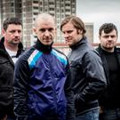 The likely lads: Mark Dunne as Ado, Tom Vaughan Lawlor as Nidge, Peter Coonan as Fran and Laurence Kinlan as Elmo