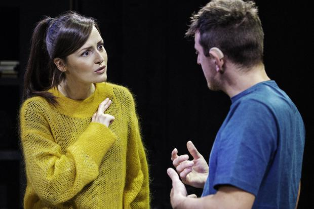 Sound pairing: Dunne and Nowak play Sylvia and Billy in Tribes