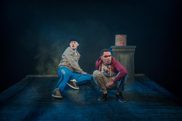 Alan Mahon and Josh Williams in 'If We Got Some More Cocaine I Could Show You I Love You' at the Project