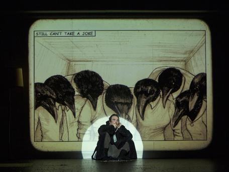 Cillian Murphy in Grief is the Thing with Feathers at O'Reilly Hall
