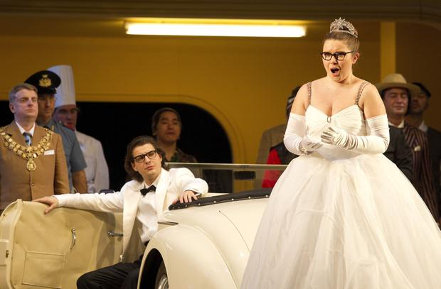 On song: Tara Erraught performs Rossini's 'La Cenerentola' at the State Opera in Vienna, Austria in 2013. AFP Photo / Dieter Nagl