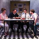From left, Melissa Nolan, Marcus Lamb, Fionn Foley and John Morton in 'The Harvest'. Photo: Alan Craig