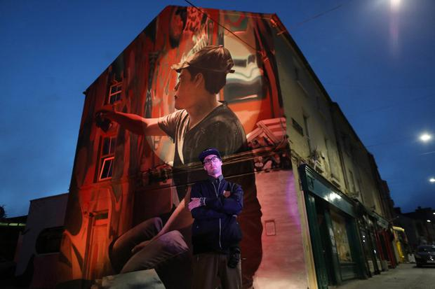 Waterford hosts a guided tour of the Waterford Walls murals.