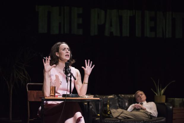 Moments of genius: O'Donoghue and Moxley in The Patient Gloria. Photo by Luca Truffarelli.