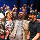 Story of humanity: The cast of Come From Away on Broadway. The show will have its European premiere in Dublin's Abbey Theatre