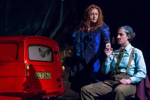 Mary Coughlan and Molly O'Mahony in Woman Undone. Photo Simone Rudolphi