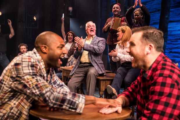 Jonathan Andrew Hume and David Shannon in Come From Away