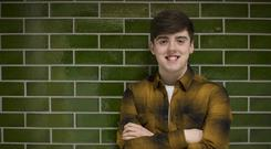 Time out: O'Reilly wasoffered the part just a few weeks before he sat his Leaving Cert last summer. Photo by Arthur Carron