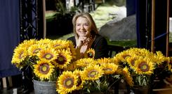 Fern Britton plays Marie in the touring production of Calendar Girls, which runs from January 22 to February 2 in Bord Gais Energy Theatre. Photo: Robin Jones, The Digital South