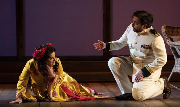 Magic touch: Byrne and Hubbard in Madama Butterfly