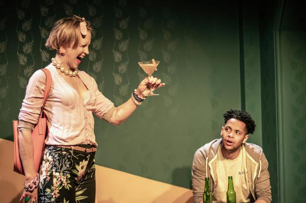 Susannah de Wrixon and Kwaku Fortune in 'They Float Up'