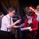 Paul Nugent and Tana Walsh in Orson Welles' Christmas Carol at the New Theatre