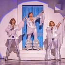 Thank you for the music: Helen Anker (Tanya), Sharon Sexton (Donna) and Nicky Swift (Rosie) in Mamma Mia! Photo by Brinkhoff-Moegenburg
