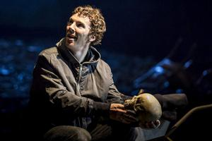 Star power: Benedict Cumberbatch is currently playing Hamlet in the Barbican in London
