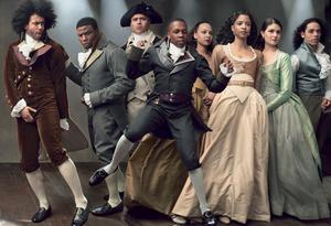 Hip-hop musical: Hamilton revisited the American past in a way that reflected the diversity of the American present