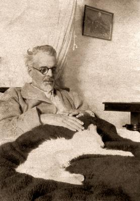 WB Yeats on his deathbed in France.