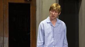 Domhnall Gleeson in Medicine, written and directed by Enda Walsh. Photo by Jess Shurte