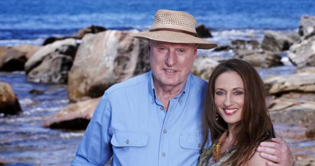 Alf Stewart with daughter Roo