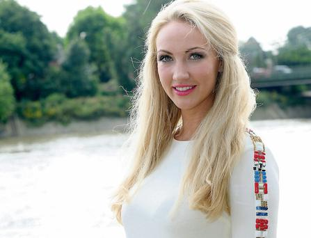 Derry-born Leah Totton is unveiled as the winner of 'The Apprentice', in London