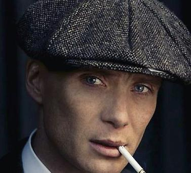 Cillian Murphy as a gangster in new drama 'Peaky Blinders'