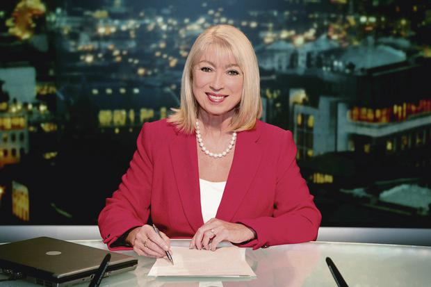Anchor woman: Anne on her final day in RTE.