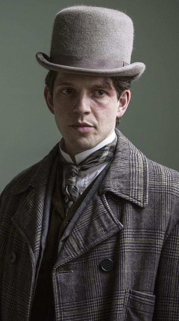 WHERE DID YOU GET THAT HAT? Damien Molony in BBC drama 'Ripper Street'