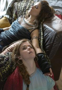 Characters Denise and Debbie overdosing in Sunday's episode