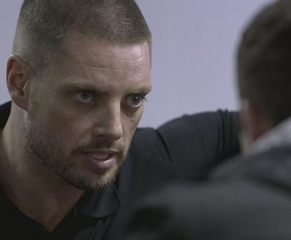 Keith Duffy in 'Love/Hate'