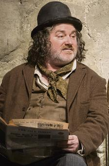Pat Shortt in 'The Cripple Of Inishmaan' in London's West End