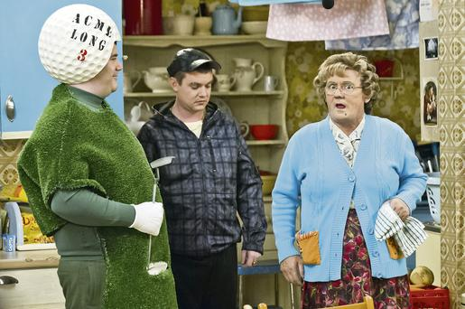 No joke: Fans of Brendan O'Carroll's 'Mrs Brown' complained to BBC