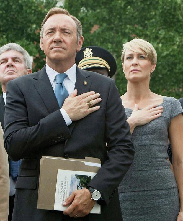House of Cards: Kevin Spacey and Robin Wright in Netflix's biggest hit