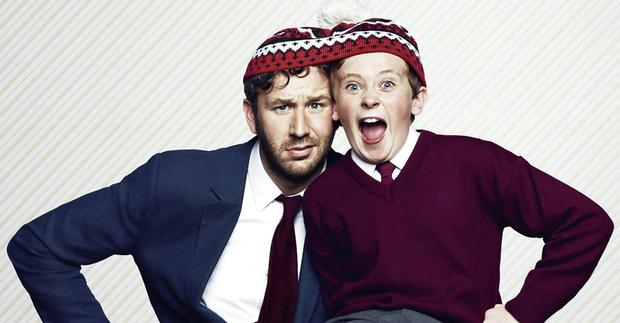Hat trick: Chris O'Dowd and David Rawle.