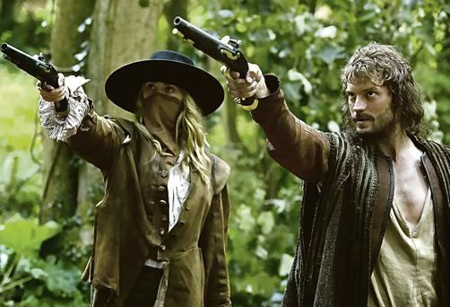 Jamie Dornan in 'New Worlds'