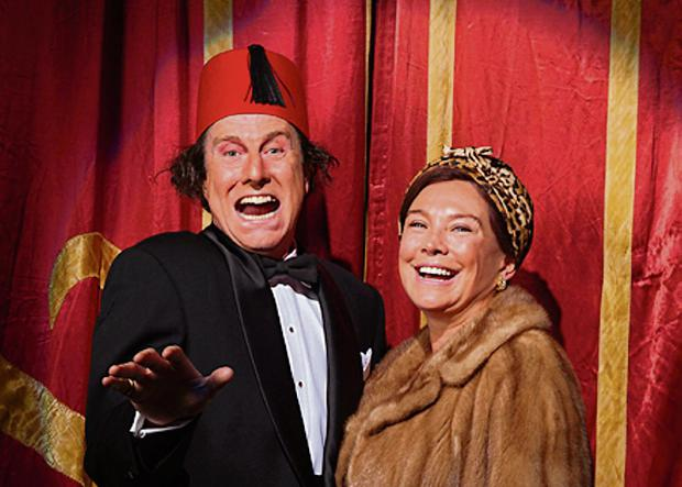 David Threlfall and Amanda Redman as Tommy and Dove Cooper
