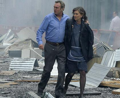 Aftershock: Phillip Glenister stars as a family man whose life is changed irrevocably by the IRA Manchester bombing of 1996.