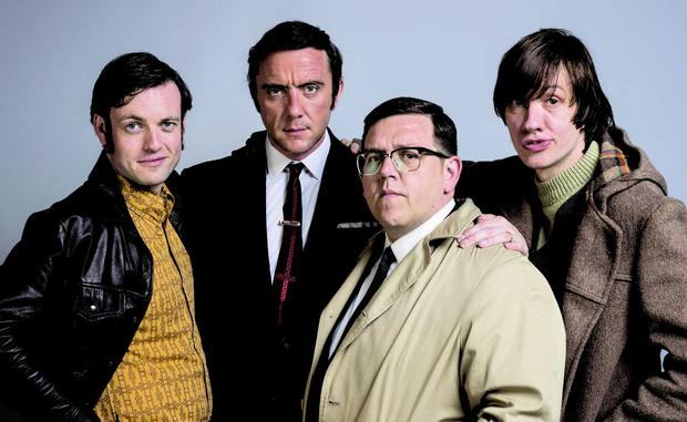 The cast of Mr Sloane
