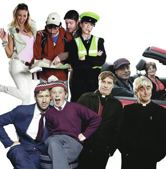Irish comedy characters