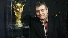 RTE commentator George Hamilton is relishing the prospect of the World Cup in Brazil.