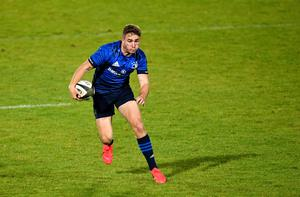 Jordan Larmour suffered a serious shoulder injury against Benetton in the PRO14. Photo by Ramsey Cardy/Sportsfile
