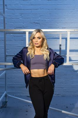 Anna wears: Bomber jacket, Poco by Pippa. Top, trousers, both H&M. Photo: Kip Carroll