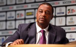 File photo dated 09-09-2014 of CONCACAF President, Jeffrey Webb. PRESS ASSOCIATION Photo. Issue date: Wednesday May 27, 2015. Vice-President Jeffrey Webb is one of a number of FIFA officials arrested by Swiss authorities, Press Association Sport understands. See PA story SOCCER FIFA. Photo credit should read Martin Rickett/PA Wire.