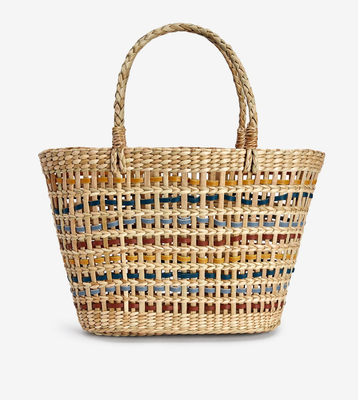 Woven bag from Next (€60)