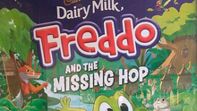 Undated handout image issued by the Advertising Standards Authority (ASA) of a Cadbury's Freddo poster as ads for the chocolate bar have been banned for breaking rules designed to limit children's exposure to junk food. Photo: ASA/PA Wire