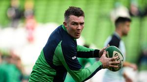 Peter O'Mahony starts at flanker for Ireland in an unchanged team to face England. Photo by Ramsey Cardy/Sportsfile