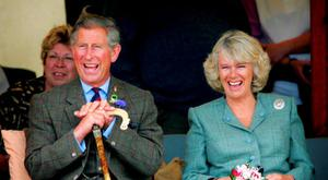 Britain's Prince Charles and Camilla Parker-Bowles