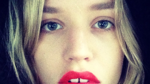 Georgia May Jagger is one of the first celebrities to take up the #SmearForSmear challenge