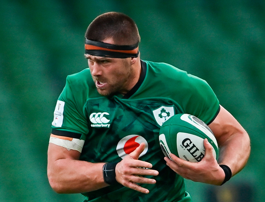 CJ Stander in action against Italy